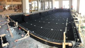 Completed Membrane Installation