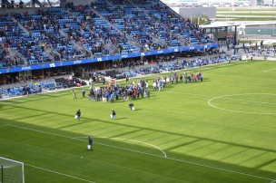 Avaya Stadium during a San Jose Earthquakes Game